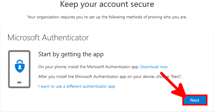 Azure AD | Keep your account secure